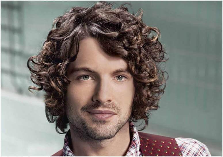 Как сделать себе кудрявые волосы мужчине 65
