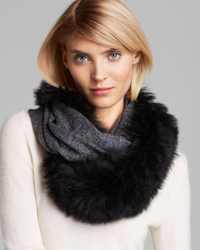 яркий меховые шарфы фото прозвище минди получила