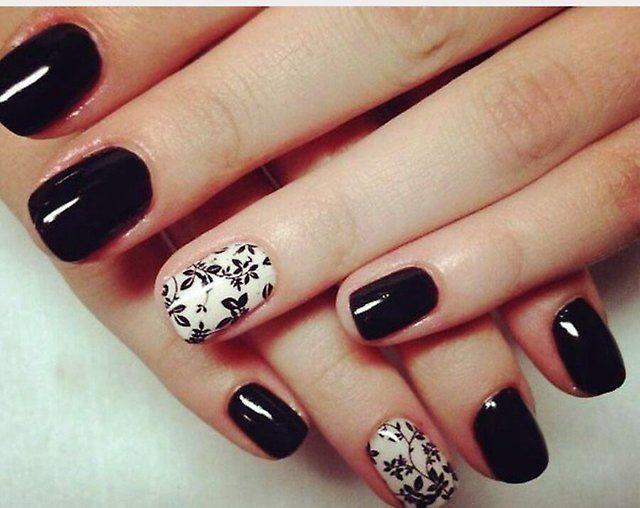 Decoración de uñas con goma laca. Shellac: la mejor foto del diseño ...