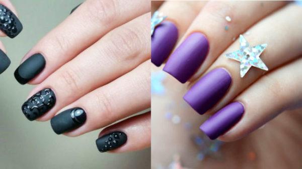 Unghie Affilate Con Una Manicure Francese Manicure Alla Moda Alla