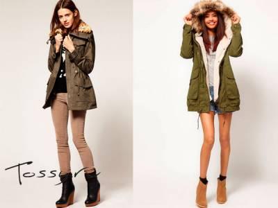 Jaket - pakaian wanita panjang yang berbeda, dengan pengikat melalui, dengan kerah dan lengan.