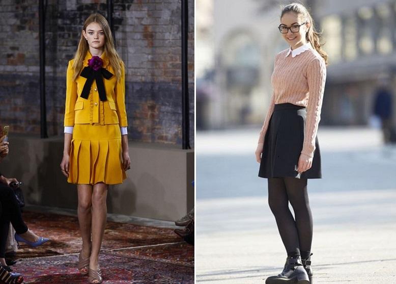 Школьные луки 22 фото как стильно одеваться в школу девушке