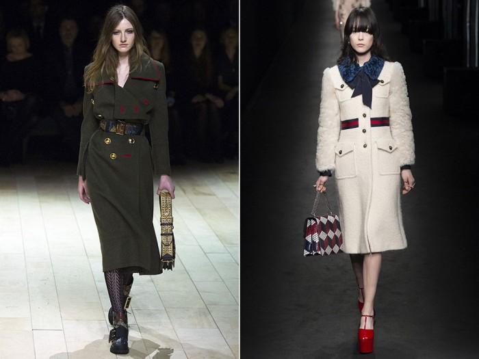 779561e81c Los temas de moda del período primavera-verano se pueden rastrear en  tendencias de la moda entre los abrigos  Modelos de corte recto con y sin  botonadura ...