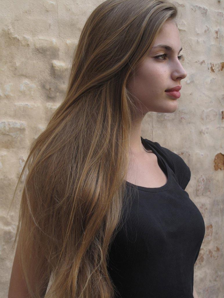 Картинки темно русые волосы девушки