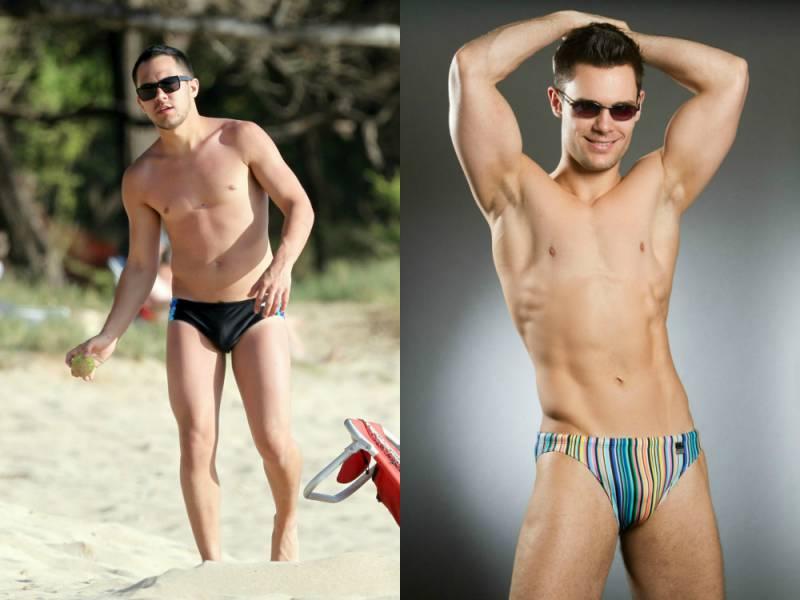Le mutandine per ragazzi sono alla moda. Moda da spiaggia per uomo ...