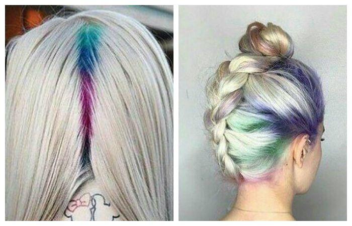 Tendencia de coloración del cabello. Coloración del cabello: todas ...